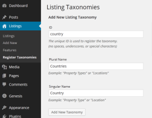 country-taxonomy